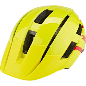 Bell Sidetrack II Helmet Youth hi-viz/red